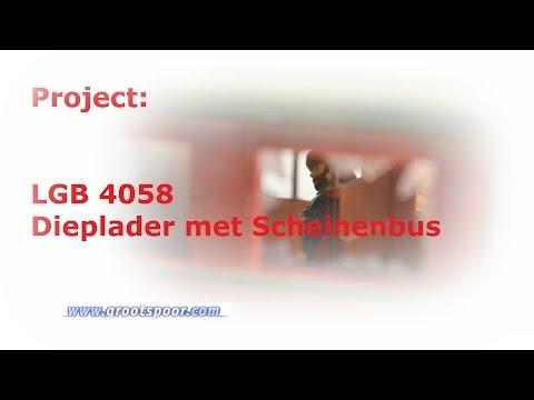 Detail project: Dieplader met Schienenbus