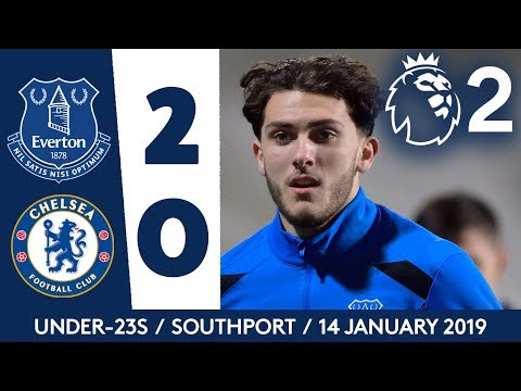 HORNBY SCORES ON U23S RETURN! | EVERTON 2-0 CHELSEA