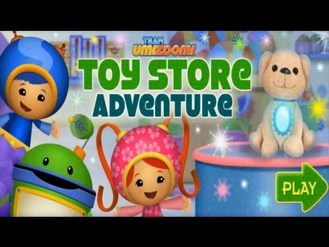 Toy Store - Team Umizoomi Toy Store Adventure Game on PC. Team Umizoomi Tries to Buy a Sparkle Pup from the toy store but lost all of their coins! My other channel, plea...