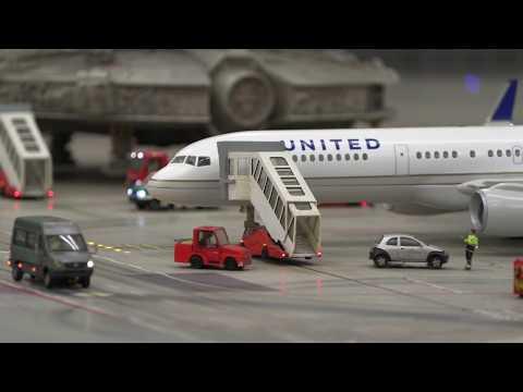 United Airlines at Miniatur Wunderland