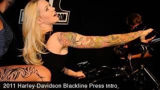 6. MotoUSA 2011 Harley-Davidson Blackline Press Intro Video