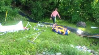 Lake Koronis Slip 'N Bleed / Human Slingshot w/Jet Ski