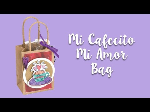 Make this Mi Cafecito Mi Amor Bag!
