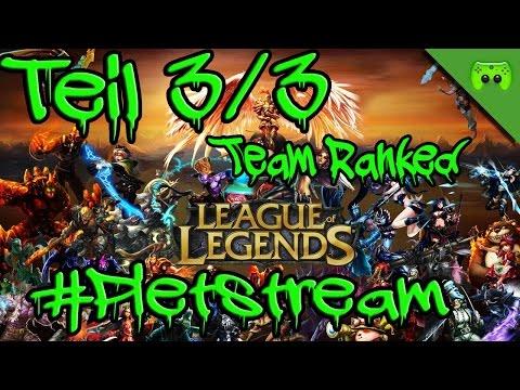 League of Legends 5er Team-Ranked #PietStream - Mit Jay «» Teil 3/3