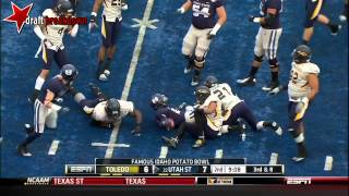 Chuckie Keeton vs Toledo (2012 Bowl)