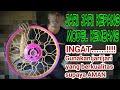 Velg kepang kembang buat kontes modifikasi motor / harian EXTREME VELG by MrJACK #8