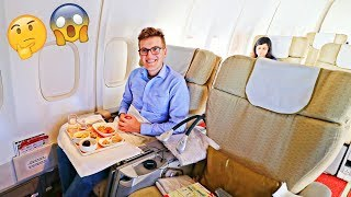 Video FLYING AIR INDIA 747-400 in FIRST CLASS | Luxury or Terrible?! MP3, 3GP, MP4, WEBM, AVI, FLV Juni 2018