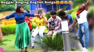 Video BEGGAR SINGING ENGLISH SONG IN DELHI PRANK |  HITESH FILMS MP3, 3GP, MP4, WEBM, AVI, FLV Oktober 2018