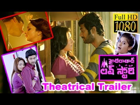 Watch Hyderabad Love Story Theatrical Trailer In HD