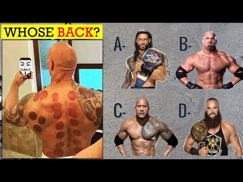 WWE QUIZ - Can You Identify All WWE Superstars by Their BACK 2021?