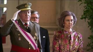 Celebración de la Pascua Militar de 2018 en el Palacio Real