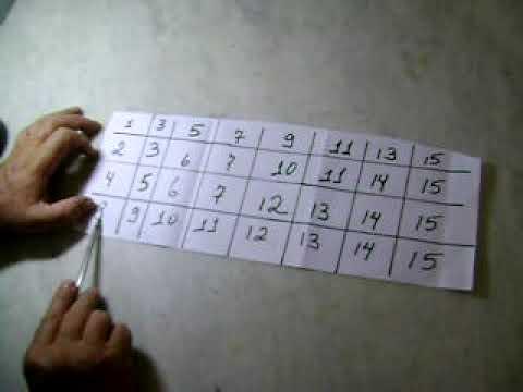 Como acertar o número www.pedrofariacarvalho.blogspot.com