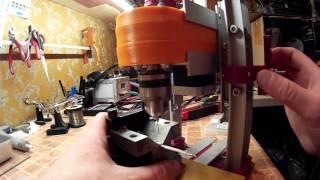 Видео с изготовлением этого станка: https://youtu.be/TocTwQMjevQСсылки на все что использовано в этом видео:3d принтер: http://ali.pub/tbnswШаговый двигатель: http://ali.pub/f27vuПатрон для станка: http://ali.pub/16jjghСверла: http://ali.pub/1agz72Драйвера L298N покупал тут: http://ali.pub/ld06aНагревательный стол: http://ali.pub/1ufzmШтангенциркуль электронный: http://ali.pub/ue7w6Пластик в России: http://3d-spc.ru/Ситалловое стекло в России: http://unique3d.ru/