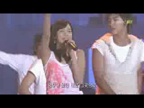 040731 MBC Korea Music Festival SM Town HotMail