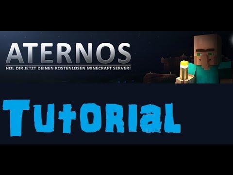Minecraft Server kostenlos hosten – Aternos.org [German / Deutsch]