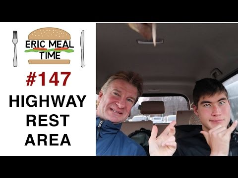 Eating on the road in Japan - Eric Meal Time #147 (видео)