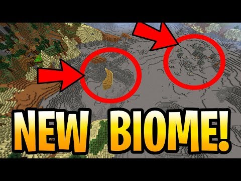 Minecraft NEW BIOME COMING!? DRIED OCEANS IN AQUATIC UPDATE! PE, Xbox One, PS4, & Switch