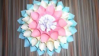 Цветы из бумаги. Большие цветы своими руками