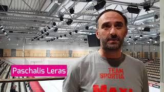 Intervju med Visbys headcoach Paschalis Leras inför AIK-Visby