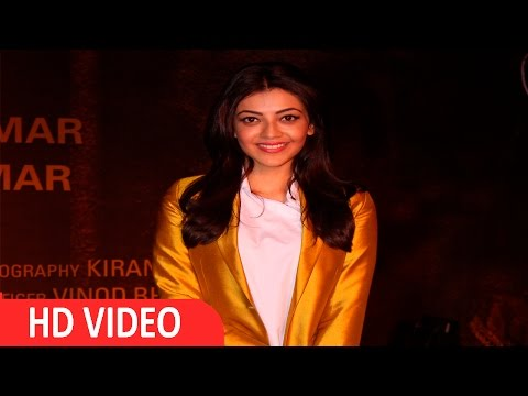 Kajal Aggarwal At Red Carpet Of Grand Screening Of Film Sarbjit