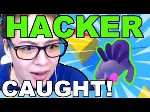 Fall Guys HACKER Caught on Livestream!!!