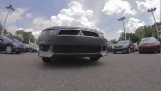 Autoline's 2011 Mitsubishi Lancer GTS Walk Around Review Test Drive