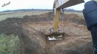 Копаем пруд.