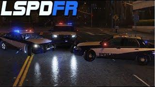 GTA 5: LSPDFR LIVE #63 - Stormy Los Santos (Custom Skin Pack)