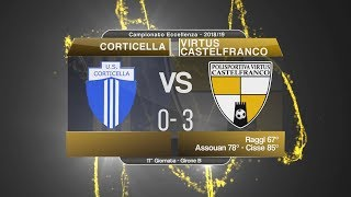 Dilettanti - Eccellenza, Corticella-V. Castelfranco 0-3: highlights e post partita