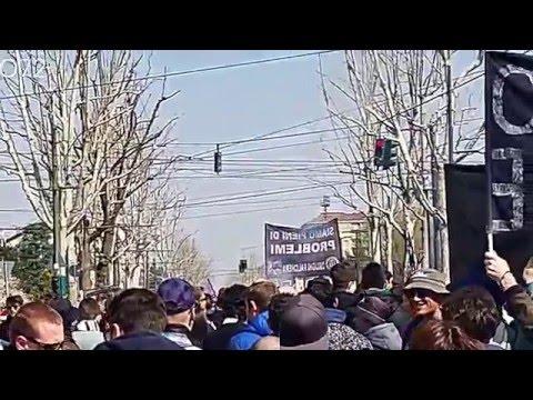 Torino - JUVENTUS Corteo ultras Juve