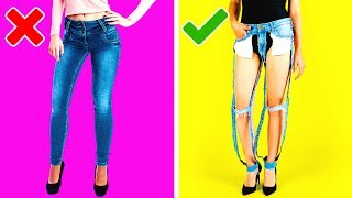 Video 24 THRIFTY CLOTHING HACKS YOU MUST KNOW MP3, 3GP, MP4, WEBM, AVI, FLV Juli 2019