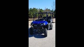 4. 2019 Honda Pioneer 700 start up for the first time