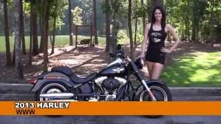 10. Used 2013 Harley Davidson Fat Boy Lo Motorcycles for sale