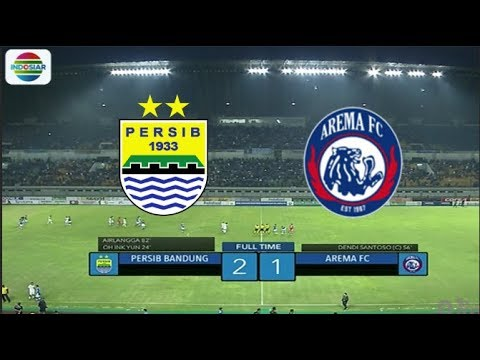 Persib (2) vs Arema (1) - Highlight Goal dan Peluang | Duel Raksasa Biru Friendly Match