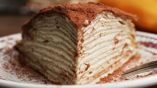 Tiramisu Mille-Crepe by Tasty