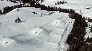 Seiser Alm Overview Snowboard