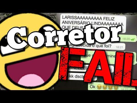 Vídeos engraçados - Erros do Corretor Ortográfico