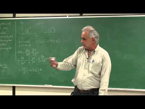 Força Central em 2 Dimensões em Coordenadas Polares
