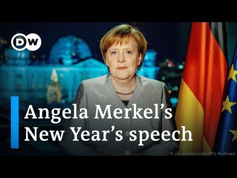 Merkel calls for unity and tolerance in New Year39s speech  DW News