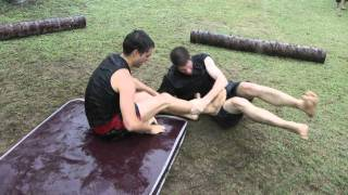 Mat Grappling   King Of The Mat   NinjaGym Multi Martial Arts Camp Thailand 2011 7