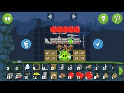 Bad Piggies Drop the King - Custom Vehicle (in Field of Dreams)