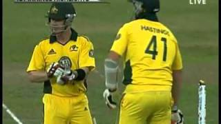 Lasith Malinga's 3rd Hat-Trick in ODI Cricket vs Australia 2011 HQ