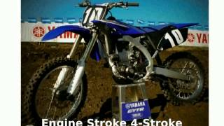 2. 2010 Yamaha YZ 250F Specification & Details