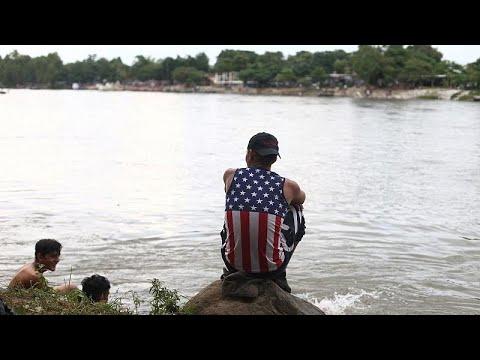 Μεξικό: Χιλιάδες μετανάστες από την Ονδούρα εισήλθαν παράτυπα στη χώρα…