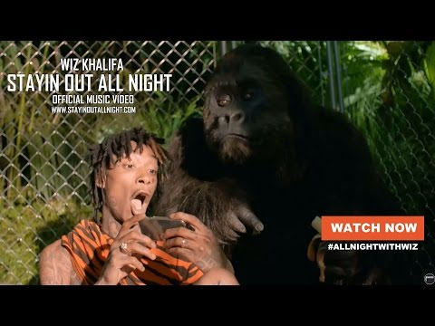 Wiz Khalifa - Stayin Out All Night [Official Video]