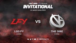 LGD.FY против Vici Gaming, Третья карта, CN квалификация SL i-League Invitational S3