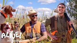 Brad Goes Pheasant Hunting   It's Alive   Bon Appétit