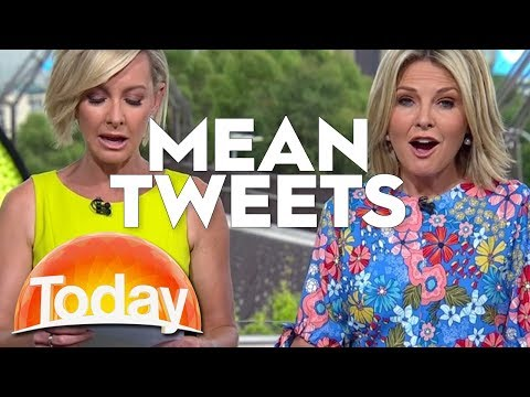 TODAY Host Read Their Mean Tweets   TODAY Show Australia
