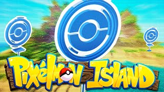 PIXELMON ISLAND SMP - Episode 2: POKEMON GO POKE-STOPS! (Pokemon Mod)