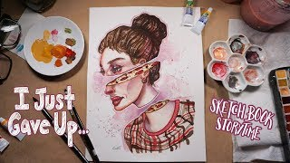 Video My Ex Was EMBARRASSED Of My Art | Sketchbook Storytime/HeART To HeART | Emily Artful MP3, 3GP, MP4, WEBM, AVI, FLV Januari 2019